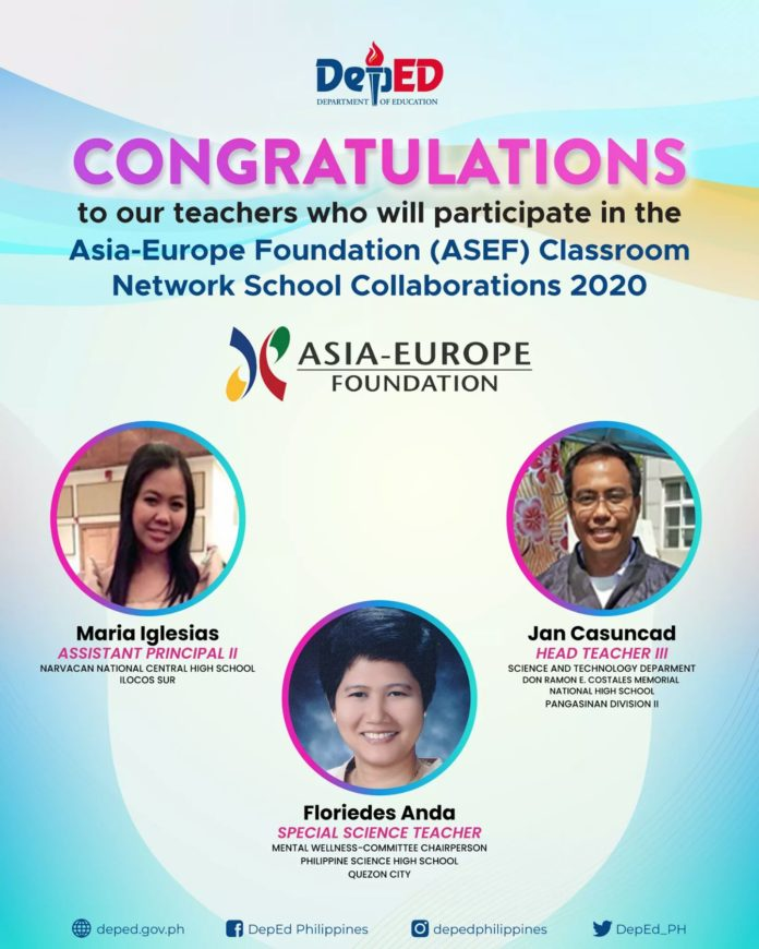 3 Filipino educators selected