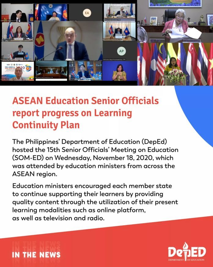 ASEAN Education Senior Officials report progress