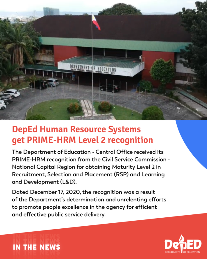 DepEd Human Resource Systems