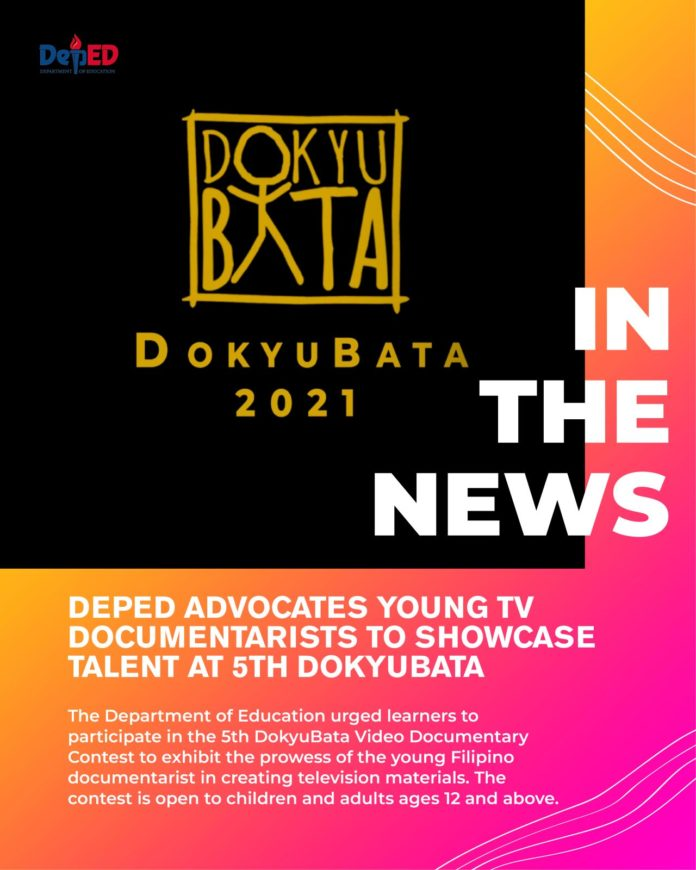 DepEd advocates young TV documentarists