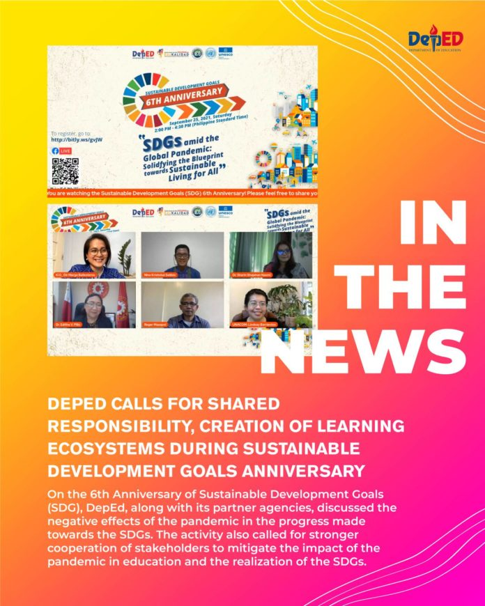 DepEd calls for shared responsibility